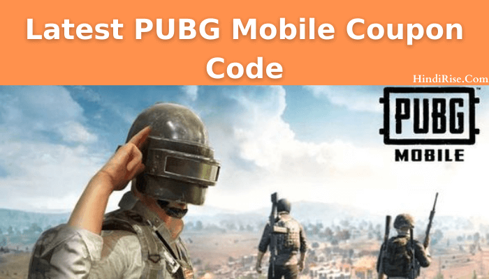 Latest PUBG Mobile Coupon Code